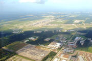 Houston-Intercontinental Aerial