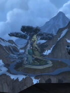 Peak of Serenity Serpent statue S screenshot