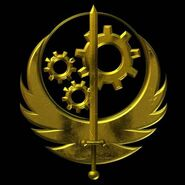BOS logo (gold)