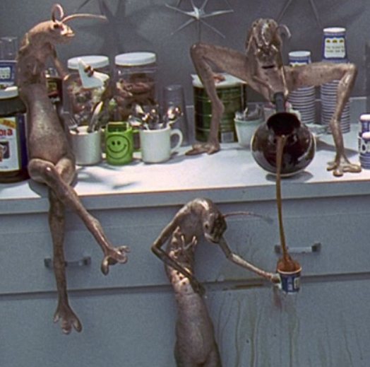 Men In Black Aliens Drinking Coffee If you focus on the worst case
