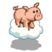 Floating Pig-icon