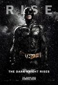 TDKR Batman poster