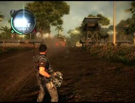 Just Cause 2 - Negeri Gandin - military base 002