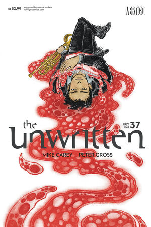 Cover for Unwritten #37