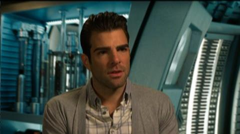 "Star Trek (2009) - Interview Zachary Quinto ""On Spock and Kirk's relationship"""