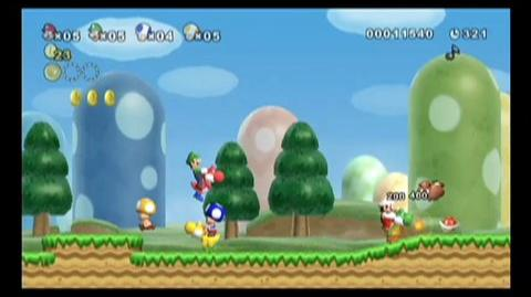 New Super Mario Bros. Wii (VG) (2009) - The Bros are back in this Wii platformer