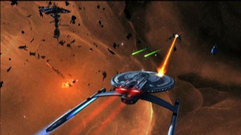 Star Trek Online (VG) (2009) - Space exploration trailer