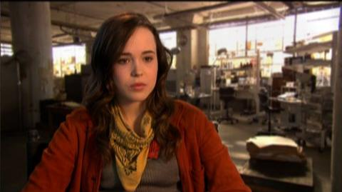 "Inception (2010) - Interview Ellen Page ""On her character"""