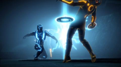 TRON Evolution The Video Game (VG) (2010) - War trailer