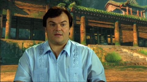 "Kung Fu Panda 2 (2011) - Interview ""Jack Black On The Plot"""