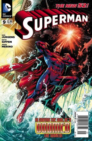 Cover for Superman #9