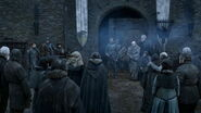 Bran surrenders Winterfell