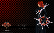 Kingdom Hearts 358-2 Days (Organization 13 - Member VIII Axel)