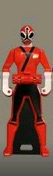 Shinken Red Ranger Key