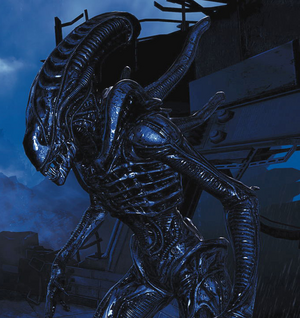 Hunter Aliens Colonial Marines