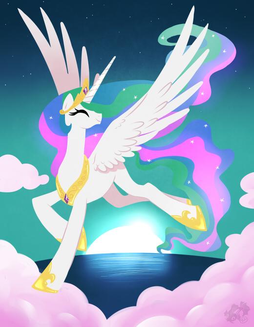 Princess Celestia My Little Pony Fan Labor Wiki