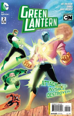 Cover for Green Lantern: The Animated Series #2