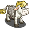 Art Deco Cow-icon