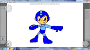 Mega Man By Metal