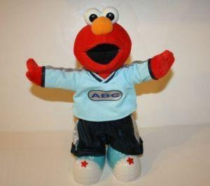 ABC Elmo doll