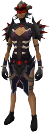 Royal d'hide armour equipped female