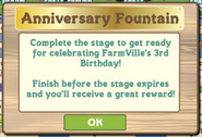 Anniversary Fountain Info