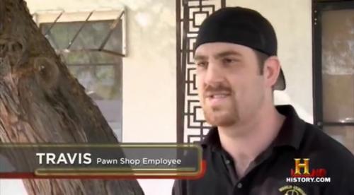 Olivia Pawn Stars Employee Travis - Pawn Stars Wi...