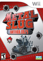 Metal Slug Anthology Wii Cover