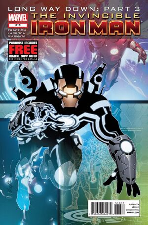 Invincible Iron Man Vol 1 518