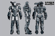 War Machine Suit