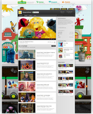 SesameStreet YouTube Channel