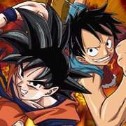 Goku and Luffy Toei Animation!