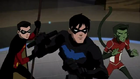 Nightwing, Robin and Beast Boy