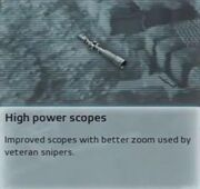 High Power Scope