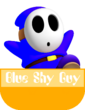 Blue Shy Guy MR