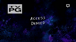 Access Denied title screen