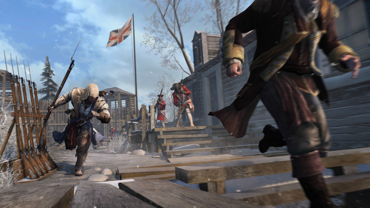 [Spoiler/Videos] Assassin's Creed III E3 2012