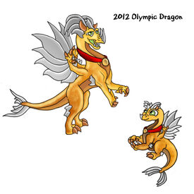 2012 Olympic Dragon