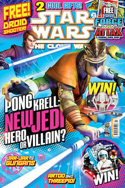 Star Wars The Clone Wars Comic UK 6.27