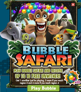 Bubble Safari Promotion Pop Up