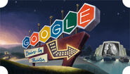 Google 79th Anniversary of the First Drive-in Movie