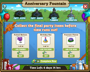 Anniversary Fountain Stage 4