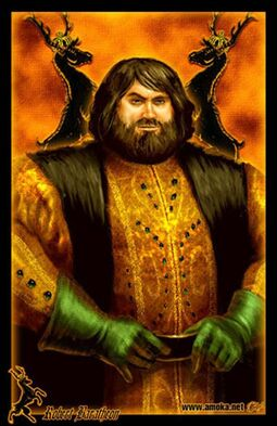 Robert Baratheon by Amoka©
