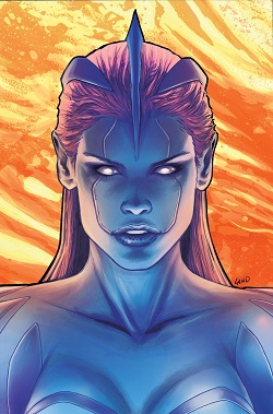 Blue hair college girl - 4 10