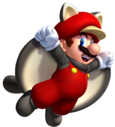 New Super Mario Bros. U artwork - Mario Squirrel Suit 1