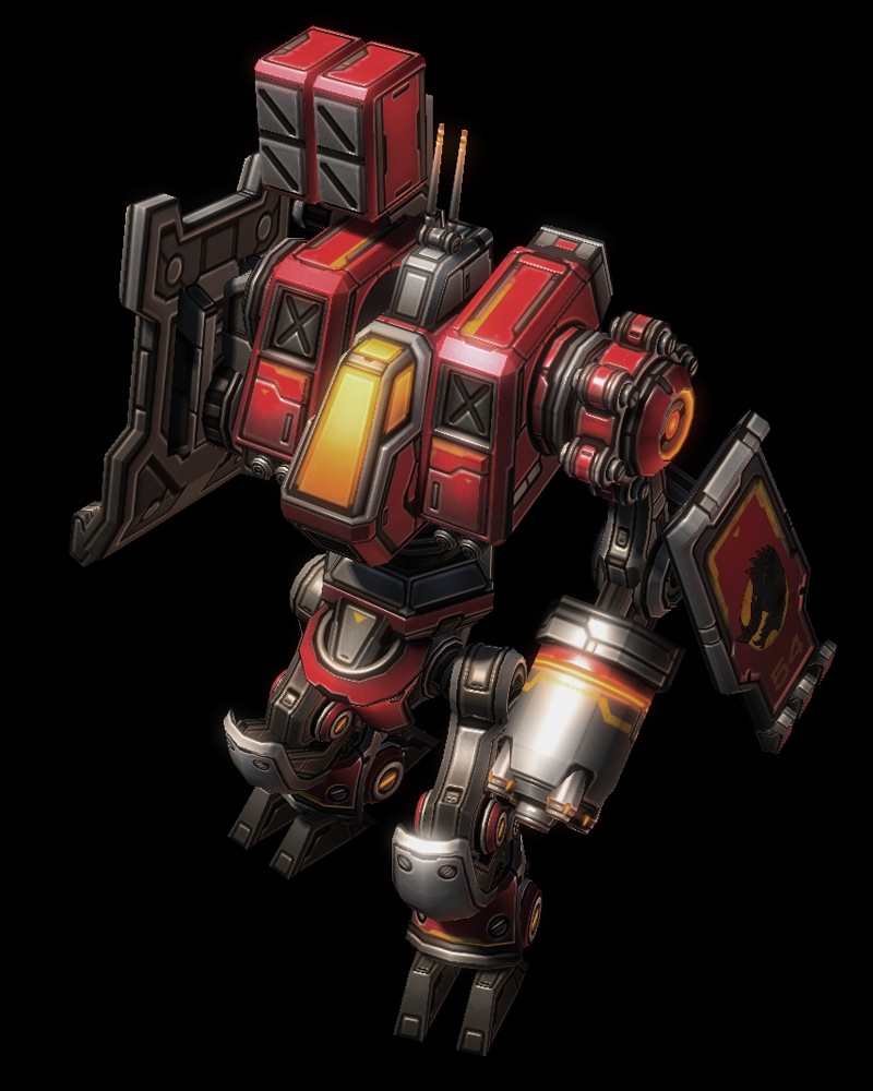 The dearly departed warhound unit from the Starcraft 2: Heart of the Swarm beta