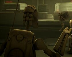 Unidentified B1 battle droid 1 (Umbara)