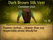 DARKBROWNSILKVEST