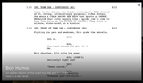 Interactive Feature script of Bill and Eric
