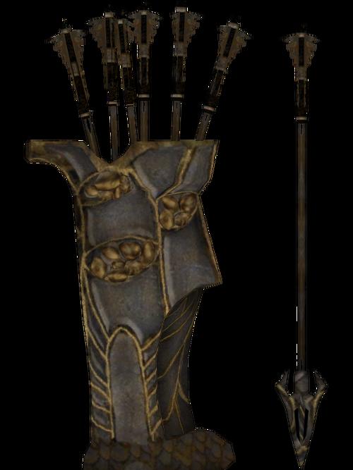 Dwarven Arrow (Skyrim) | Elder Scrolls | FANDOM powered by ... |Daedric Arrows
